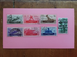 REGNO 1934 - Medaglie Al Valore - Nn. 367/73 Timbrati Incompleta + Spese Postali - 1900-44 Vittorio Emanuele III