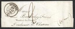 1846 - LAC - C.à.d BRIENNE Type 14 A DOULEVANT LE CHATEAU - TB - 1801-1848: Précurseurs XIX