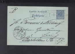 Dt. Reich GSK 1900 Stempel DR Krone - Deutschland