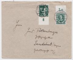 BRIEF DEUTSCHES REICH SCHKEUDITZ 20.07.1936 NACH LANDSHUT BAYERN STEMPEL BRIEFMARKE - Allemagne