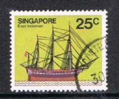 Singapore SG369 1980 Definitive 25c Good/fine Used [15/14413/2D] - Singapore (1959-...)
