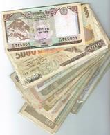 Lot De 50 Billets Du Monde. A Saisir - Coins & Banknotes