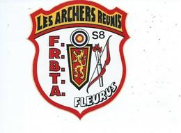 Fleurus Les Archers Réunis ( Autocollant ) - Fleurus