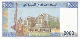 DJIBOUTI P. 43 2000 F 2008 UNC - Dschibuti