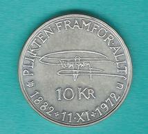 Sweden - Gustav VI - 10 Kronor - 1972 (KM847) - 90th Birthday Of Gustav VI - Suède