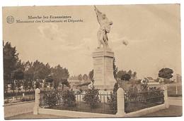 Marche Les Ecaussinnes   Monument Des Combattants Et Deportee - België