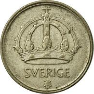 Monnaie, Suède, Gustaf V, 10 Öre, 1948, TTB, Argent, KM:813 - Suède