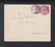 Dt. Reich Brief 1890 Bühl Basel Schönau - Deutschland