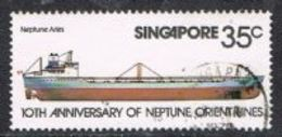 Singapore SG336 1978 10th Anniversary Of Neptune Orient Shipping Lines 35c Good/fine Used [15/14407/2D] - Singapore (1959-...)