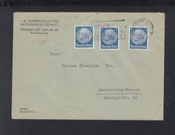 Dt. Reich Brief IG Farben MeF - Briefe U. Dokumente