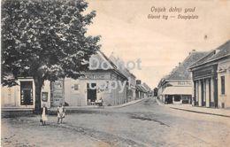 Osijek Dolnji Grad - Glavni Trg - Hauptplatz - Croatia