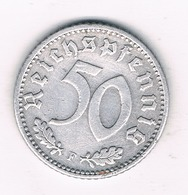 50 PFENNIG  1935 F   DUITSLAND 1306/ - [ 4] 1933-1945 : Troisième Reich