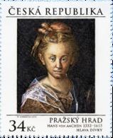 ** 850 Czech Republic Hans Von Aachen, Prague Castle Gallery 2015 - Künste