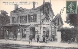 ** Lot De 10 Cartes ** 60 - SENLIS ( Militaria - Guerre 1914 ) Cartes Différentes Toutes Scannées - CPA - Oise - Senlis