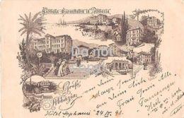 Abbazia - Opatija - Gruß Aus Abbazia - Südbahn Kuranstalten - 1898 - Croatia