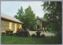 FI.- ROVANIEMI. LAURI TUOTTEET OY. Pohjolankatu 25. FINLAND. Verstas, Kahvio, Myymala, Café, Workshop. - Finland