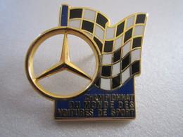 PIN'S CHAMPIONNAT DU MONDE DES VOITURES DE SPORT - Automobile - F1