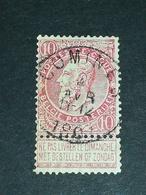 COB N °58 Oblitération Comines 1902 - 1893-1900 Fine Barbe