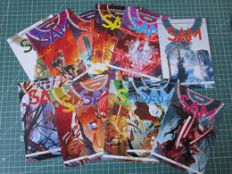 Lotto 12 Cartoline SERIE COMPLETA Orfani - SAM 1/12 Fumetti BD Comics Bonelli - Fumetti