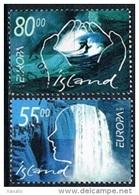 Iceland 2001 - Europa Cept - 1944-... Republique