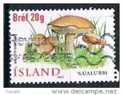 Iceland 2002 - Edible Mushrooms - 1944-... Republique