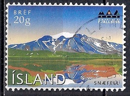 Iceland 2002 - International Year Of Mountains - Mount Snaefell - 1944-... Republique