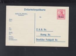 Zivilarbeiter-PK Ungebraucht - Germania