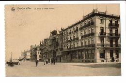 CPA - Carte Postale -Belgique -Knocke - Hôtel Palace Et La Digue-1924 --VM555 - Knokke