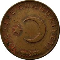 Monnaie, Turquie, 10 Kurus, 1970, TB+, Bronze, KM:891.2 - Turquie