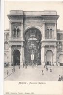 CPA - Italie - Lombardia - Milano - Facciata Galleria - Milano (Milan)