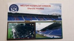 Uherske Hradiste Stadium Postcard Cartolina Stadio Stadion AK Carte Postale CP Stade Estadio - Soccer