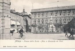CPA - Italie - Lombardia - Milano - Piazza Della Scala - Milano (Milan)