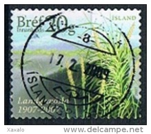 Iceland 2007 - The 100th Anniversary Of The Soil Conservation Service - Adhesive - 1944-... Republique