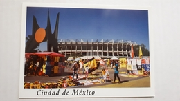 Mexico City Citta' Del Messico Azteca Stadium Postcard Cartolina Stadio Stadion AK Carte Postale CP Stade Estadio - Soccer