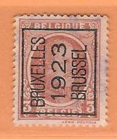 COB 192  TYPO - BRUXELLES 1923 BRUSSEL  - Surch A  (Lot 599) - Préoblitérés