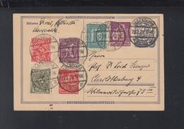 Dt. Reich GSK Mit ZuF 1923 Oldenburg Nach Berlin - Deutschland