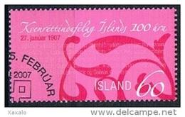 Iceland 2007 - The Women's Rights Association - 1944-... Republique