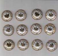 12 Capsules De Champagne LOUIS ROEDERER Plusieurs Modèles Voir Mes Autres Ventes - Roederer, Louis
