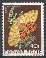 Hungary 1974. Scott #2313 (U) Insect, Rhyparia Purpurata * - Hungary