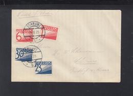 Österreich Expresbrief 1925 Schruns - Briefe U. Dokumente