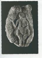 Venus En Bas Relief - Laussel France (cp Vierge Musée De L'homme) - Antiquité