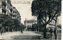 005949  Algèr - Rue D'Isly, Rue Monge Et Hôtel Des Postes - Algerien