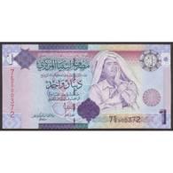TWN - LIBYA 71 - 1 Dinar 2009 Series 7 - Various Prefixes UNC - Libia