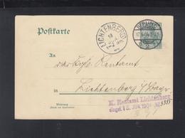 Dt. Reich GSK K. Rentamt Lichtenberg 1904 - Germania