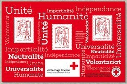 France Croix Rouge 2017 Feuillet Neuf TB ** MNH Sin Charnela Faciale 4..55 - France