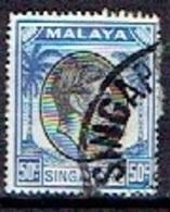 MALAY  # SINGAPORE  FROM 1949-52  STAMPWORLD 17A - Gran Bretaña (antiguas Colonias Y Protectorados)