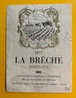 9997 - La Brèche 1977 état Moyen - Bordeaux