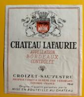 10000 - Château Lafaurie - Bordeaux