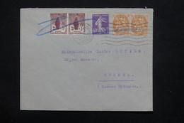 FRANCE - Enveloppe De Toulouse En 1927 Pour Orthez , Affranchissement Divers Dont Orphelins En Paire - L 22822 - 1921-1960: Modern Tijdperk