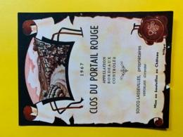 10011 -  Clos Du Portail Rouge 1967 - Bordeaux